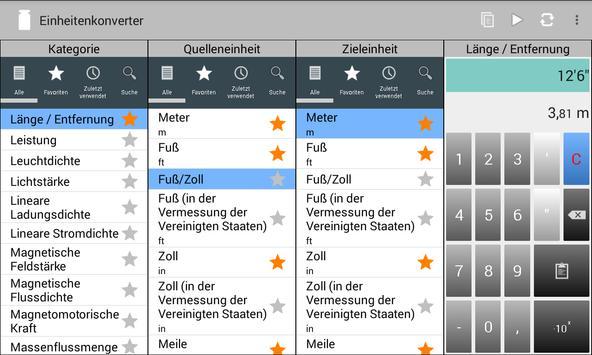 Einheitenkonverter Screenshot 11