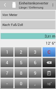 Einheitenkonverter Screenshot 2