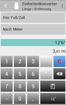 Einheitenkonverter Screenshot 3