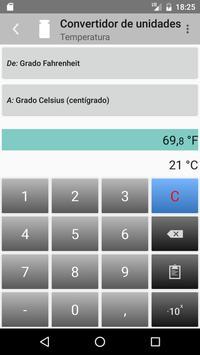 Convertidor de unidades captura de pantalla 4