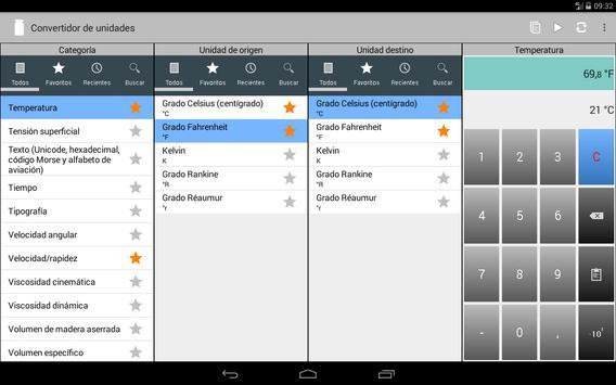 Convertidor de unidades captura de pantalla 8