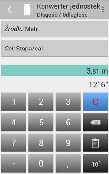 Konwerter jednostek screenshot 2
