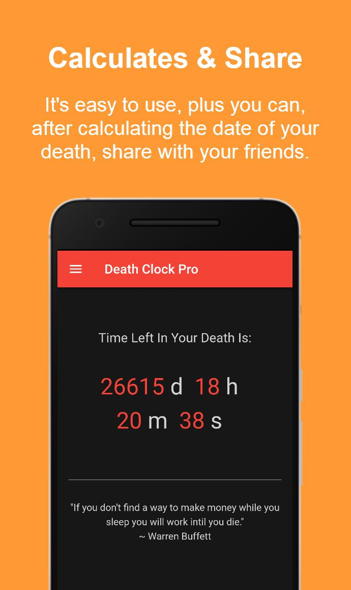 Death Clock Pro for Android - APK Download