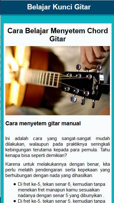 Belajar Kunci Gitar,Bass,Ukulele for Android - APK Download