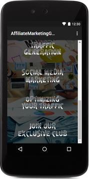 Affiliate Marketing Guru screenshot 1