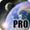 Earth & Moon in HD Gyro 3D PRO Parallax Wallpaper 圖標