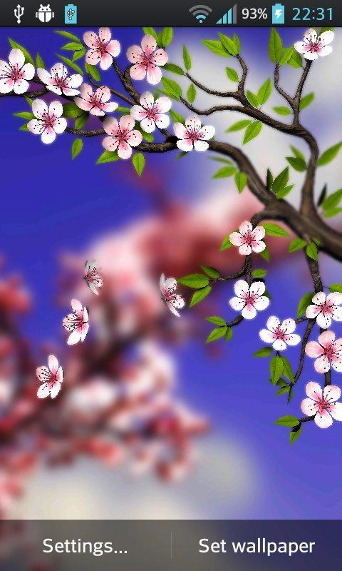 Spring Flowers 3D Parallax Pro for Android - APK Download