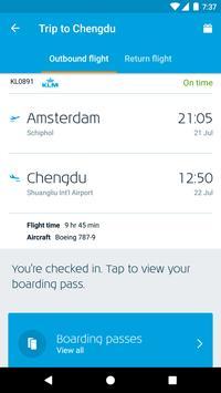 KLM screenshot 1