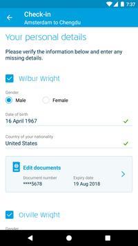 KLM screenshot 2