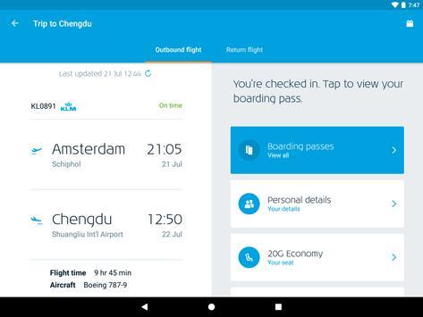KLM screenshot 9