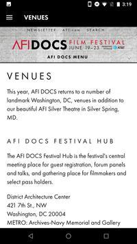 AFI DOCS screenshot 4