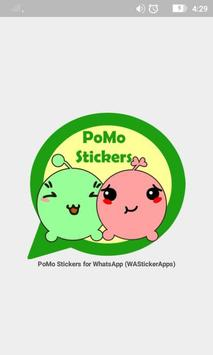 PoMo Stickers For WhatsApp poster