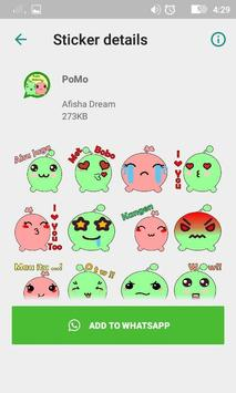 PoMo Stickers For WhatsApp screenshot 1