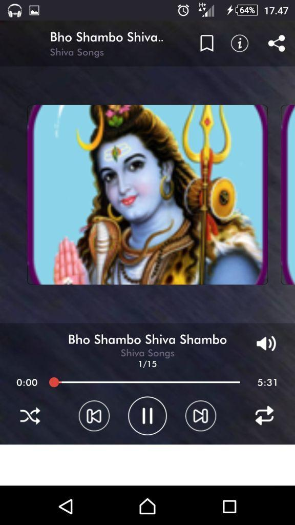 Shiva Songs (Audio / MP3) for Android - APK Download