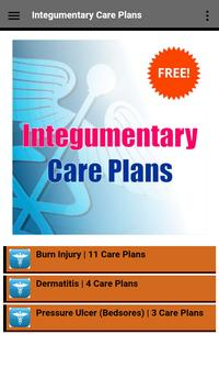Integumentary Nursing Care Plans capture d'écran 4