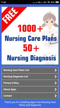 FREE Nursing Care Plans and Diagnosis poster