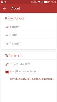 Kiota School Official App screenshot 2