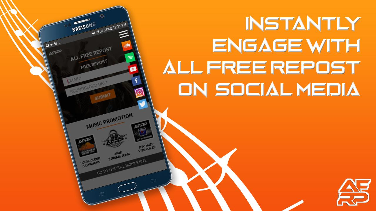 All Free Repost - Music Promotion for Android - APK Download