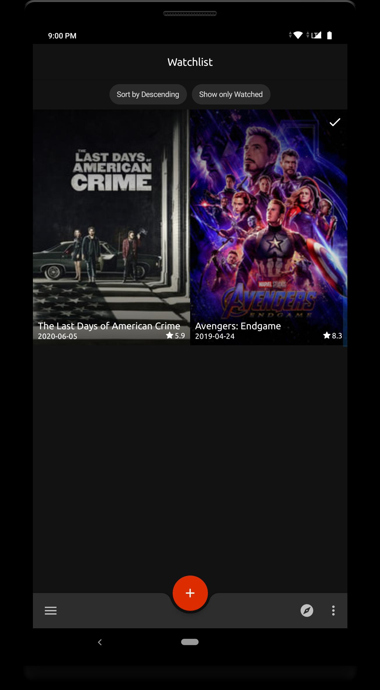 Watchdone Movie Watchlist Manager Mark Watched For Android Apk Download