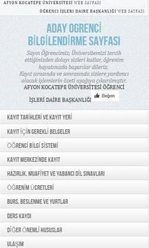 Afyon Kocatepe Üniversitesi screenshot 1