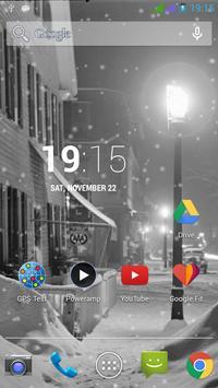 Lovely Snowfall Wallpaper Free screenshot 3