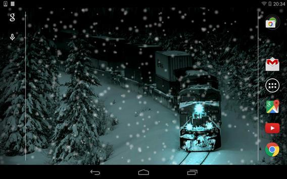 Lovely Snowfall Wallpaper Free screenshot 9