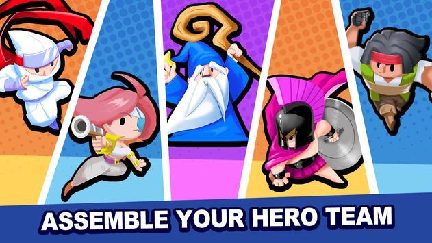 Tiny Heroes تصوير الشاشة 5