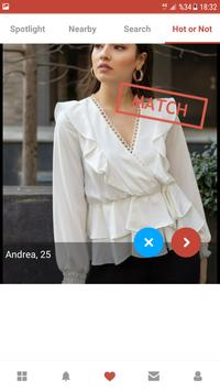 Deaf Dating App - AGA poster