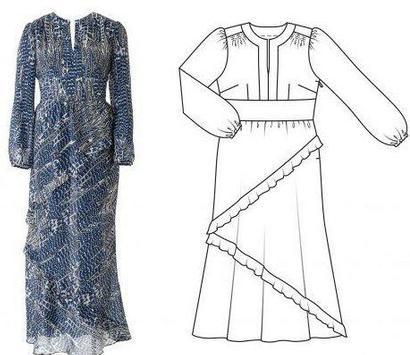 Robe Pattern Design Ideas screenshot 1