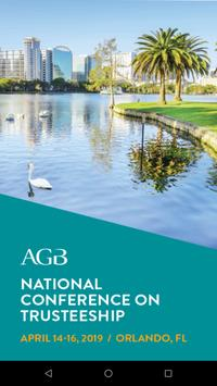 AGB Events and Programs poster