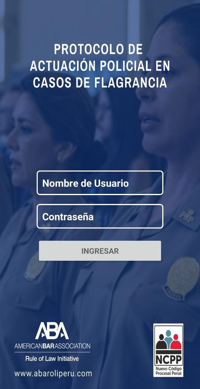 Actuacion Policial En Flagrancia For Android Apk Download