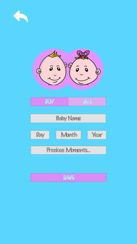 Baby's Age Tracker - Baby Care screenshot 1