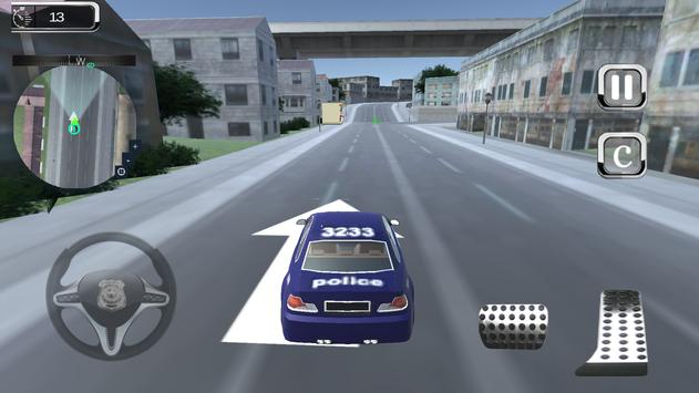 Police Chase Turbo Car Criminal Pursuit screenshot 13
