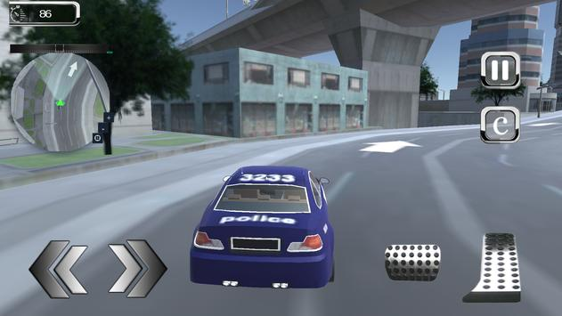 Police Chase Turbo Car Criminal Pursuit screenshot 16