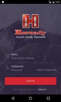 Hornady Plakat
