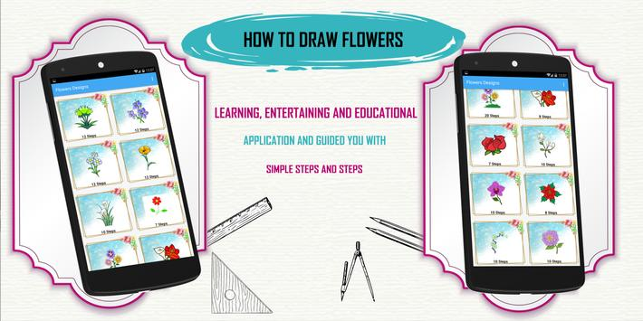Learn How to Draw Flowers Step by Step screenshot 3