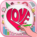 Learn how to draw hearts step by step