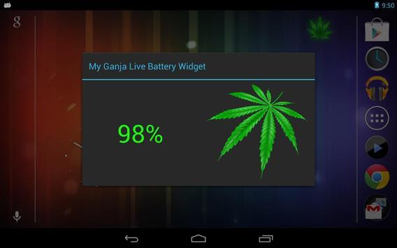 My Ganja Live Battery Widget screenshot 5