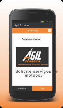 Agil Express - Cliente screenshot 1