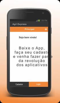 Agil Express - Cliente screenshot 2