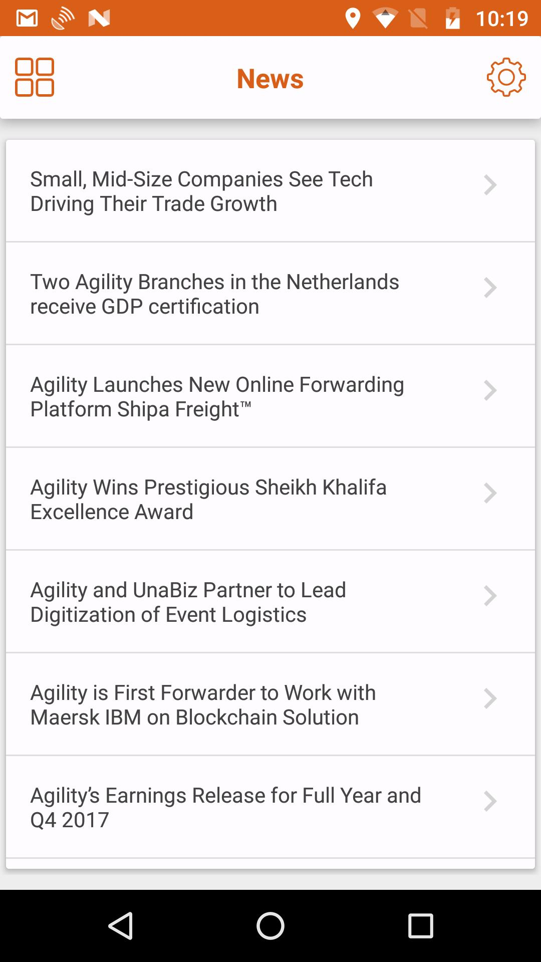 Agility Logistics for Android - APK Download