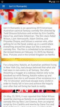 Movie Info Isn't it Romantic screenshot 6