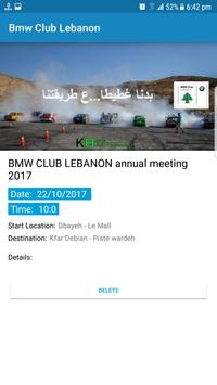BMW CLUB LEBANON screenshot 5