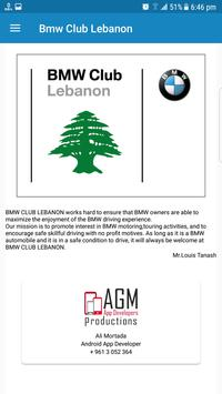 BMW CLUB LEBANON screenshot 6