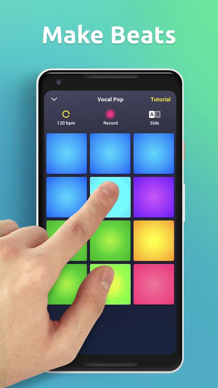 drum pad machine make beats for android apk download. Black Bedroom Furniture Sets. Home Design Ideas