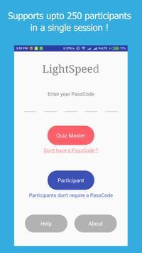 LightSpeed Quiz Buzzer poster