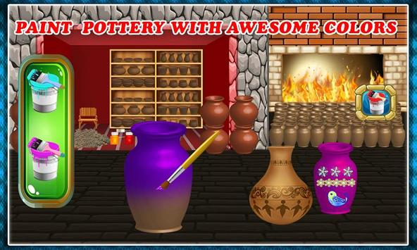 Pottery Making Ceramic Builder: Sculpt Paint Vase screenshot 5