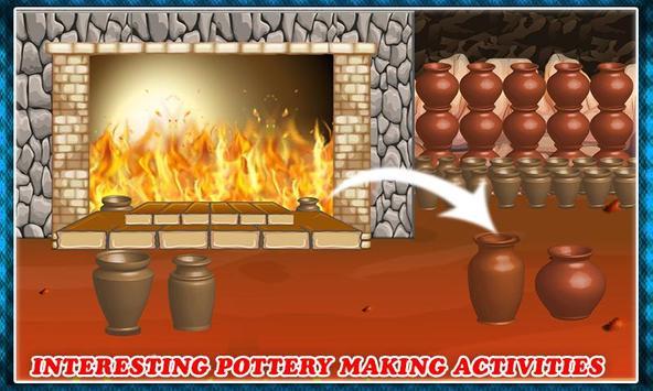 Pottery Making Ceramic Builder: Sculpt Paint Vase screenshot 6