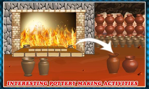 Pottery Making Ceramic Builder: Sculpt Paint Vase screenshot 1