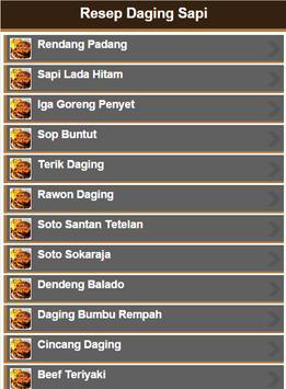 Resep Daging Sapi screenshot 13